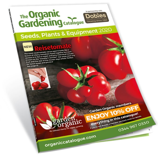The Organic Gardening Catalogue front cover 3d