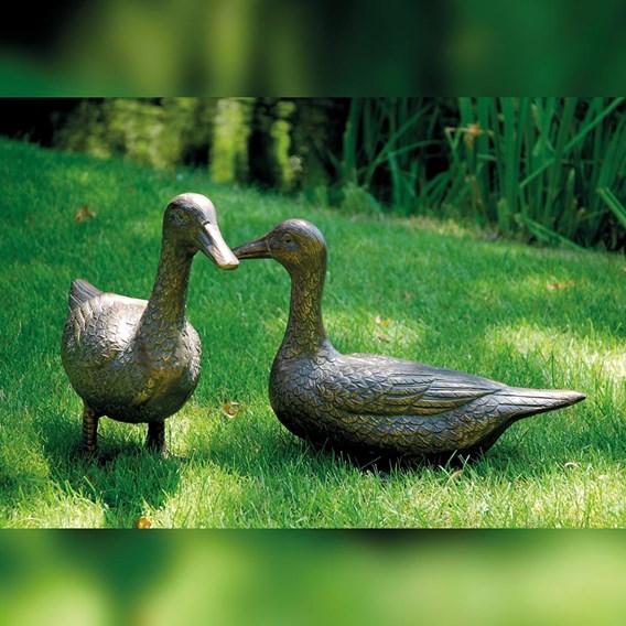 'Pair of Ducks' Decorative Garden Figures