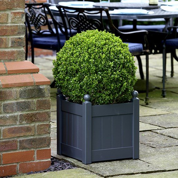 Classic Planter Heritage Charcoal