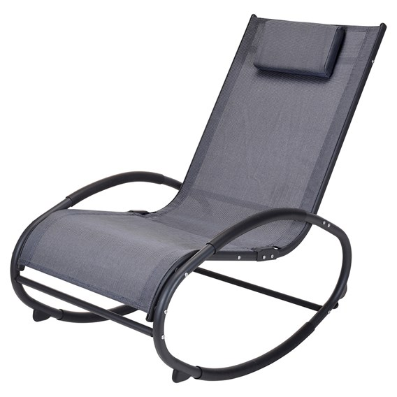 Rocking Chair with Pillow