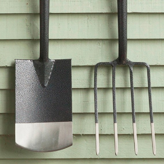 Half Bright Border Fork & Spade (Rob Smith)