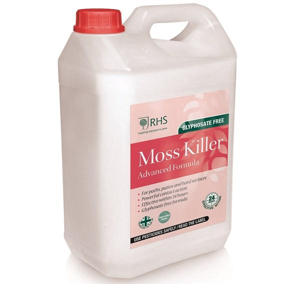 RHS Moss Killer RTU 5Ltr