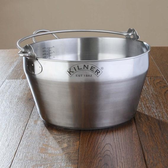 Kilner Steel Preserving Pan 8 litre