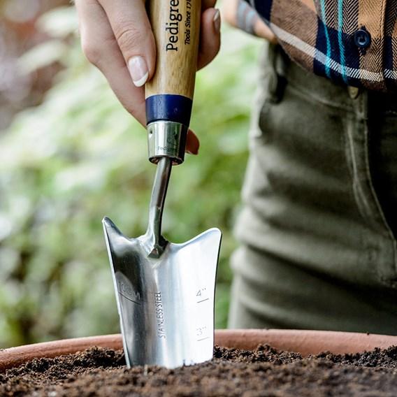 Stainless Steel Transplanting Trowel