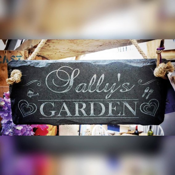 Personalised Her Garden Sign