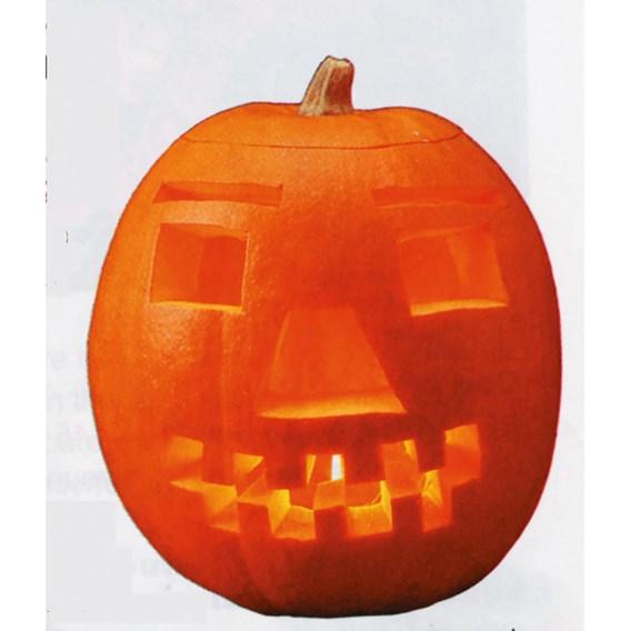 Squash & Pumpkin Jack O'Lantern