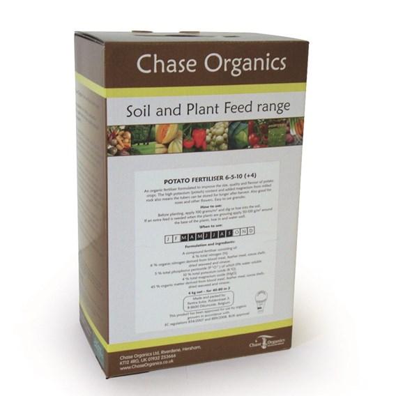 Organic Potato Fertiliser 4kg  (3 Packs)