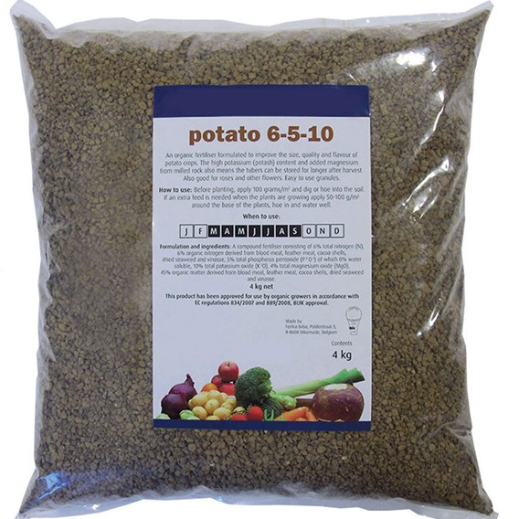 Organic Potato Fertiliser 4Kg
