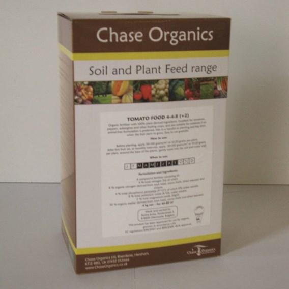 Chase Organics Tomato Fertiliser 4Kg