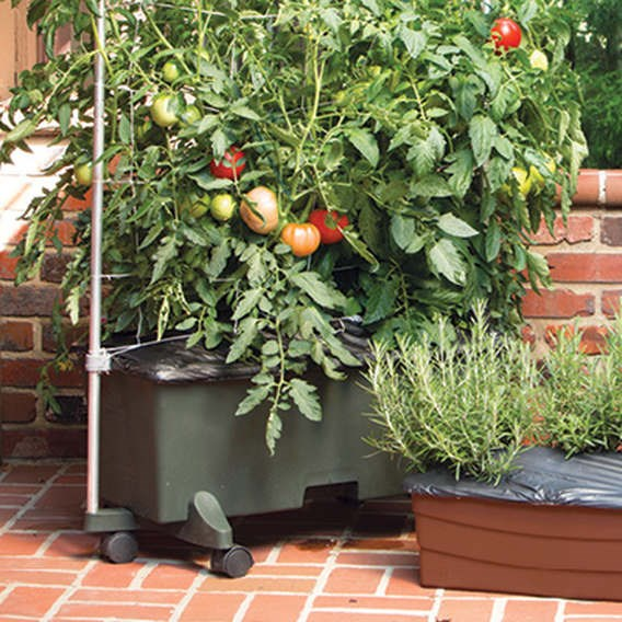 Earthbox 56 Litre Planter Support Frame Green