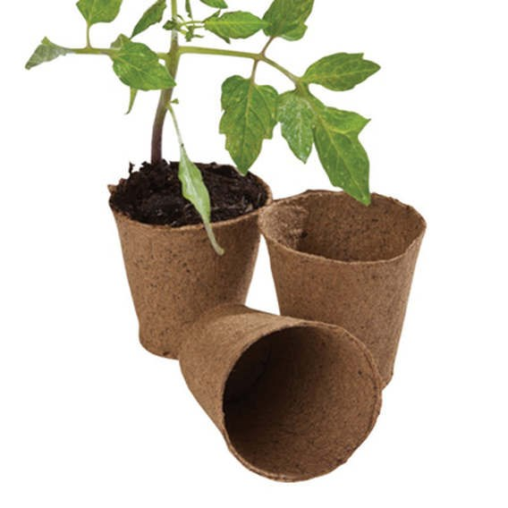 Fibre Pots 6Cm Round Pot