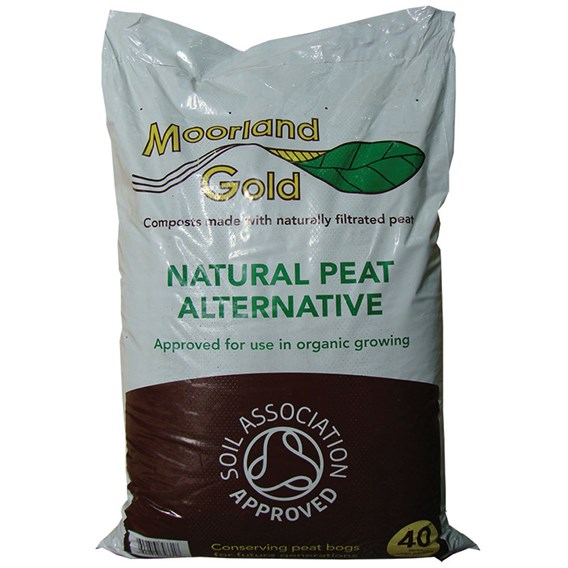 Moorland Gold Natural Peat Alternative  40 Litre