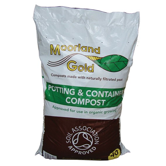 Moorland Gold Potting And Container Compost  40 Litre