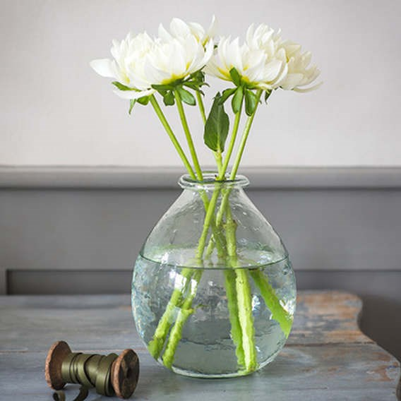 Recycled Glass Vases Large H19Cm
