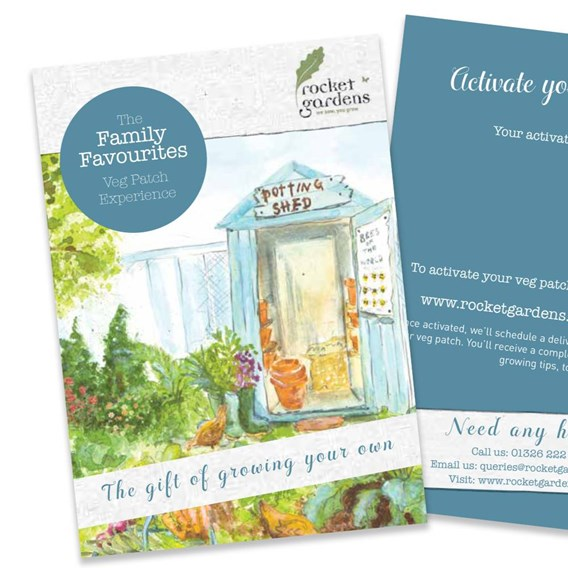 Family Favourites Veg Patch Voucher
