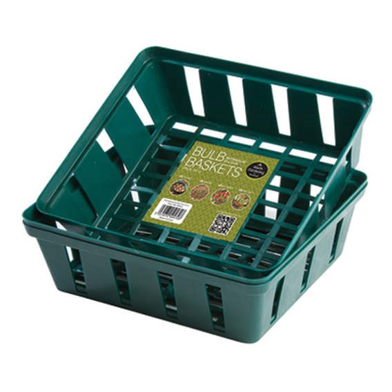 Bulb Baskets - 3 Rectangular (23  X 21 Cm)