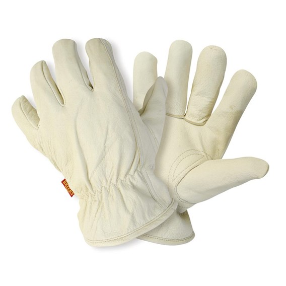 Lined Hide Men'S Glove Large