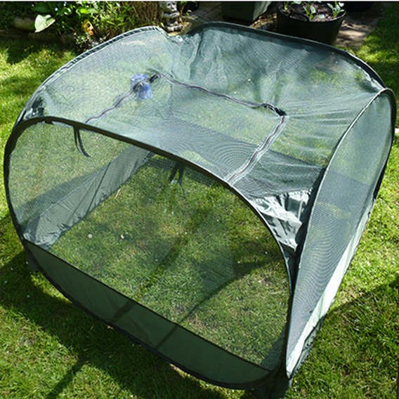 Pop Up Net Cage With Zipped Entry - Low  75Cm - Gpn125-02