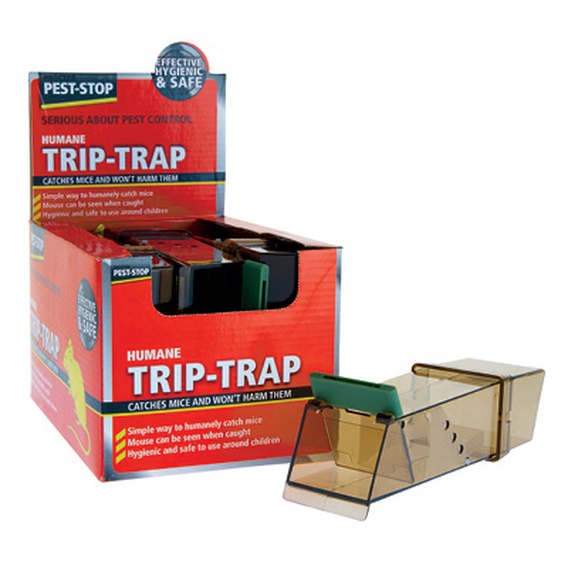 Trip Trap Live Catch Mouse Trap