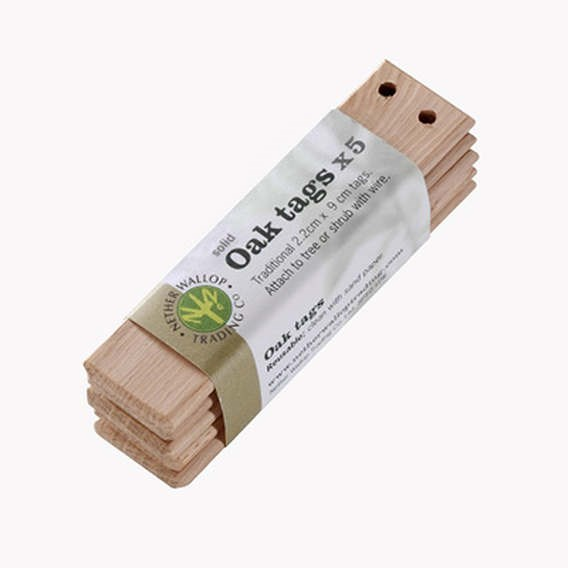 Fsc Oak Plant Tags (Pack Of 5)