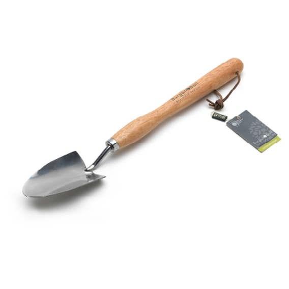 Mid Handled Trowel- Fsc Hardwood Handle