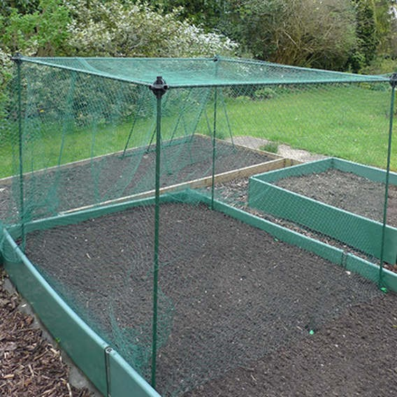 No Frills Cage 7Mm Butterfly Net 1  X 1.2 X 1.2M Gnf200-20