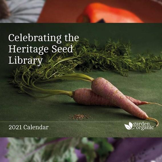 Garden Organic Calendar 2021
