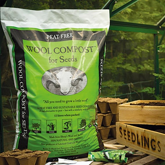 Wool Compost for Seeds