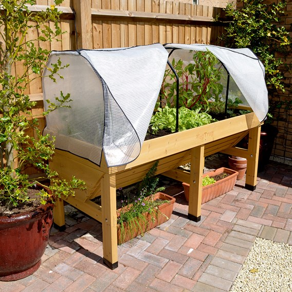 VegTrug Home Farm Kit - 1.8m with Frame and Cover