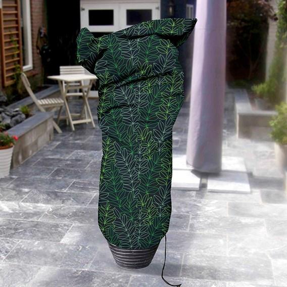 Plant Cover Medium (100x200) - Black & Green