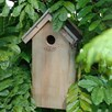 Great Tit Bird Box - Bitumen Roof