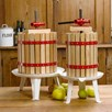 18 Litre Fruit Press Inc Pulp Bag & Fruit Mill Crank Handle
