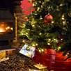 Christmas Tree Skirt Gold